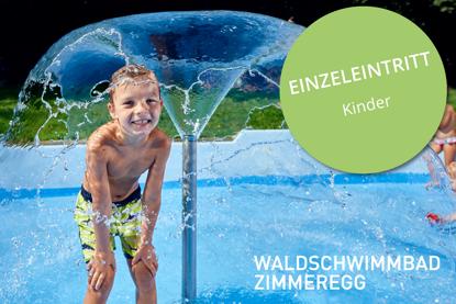 Picture of Einzeleintritt Kind Waldschwimmbad Zimmeregg